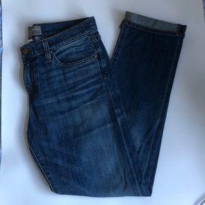 J Crew Point Sur Vintage Straight Jean 27 EUC